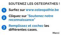 Soutenez l'ostéopathie !